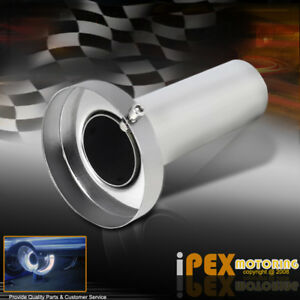 3 5 All Around N1 Cannister Muffler Catback Exhaust Removable Silencer Tip