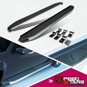 For 11 17 Jeep Grand Cherokee Metallic Black 5 75 Running Board Nerf Step Bar
