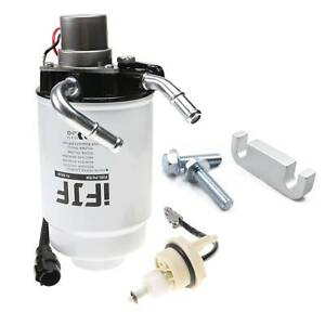 New Fuel Filter Housing Gm Duramax 6 6l 2004 2013 Complete Heater