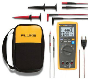 Fluke 3000fc eda2 Electronics Dmm And Deluxe Accessory Kit
