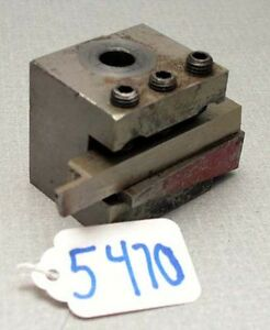 Hardinge Type Wedge Tool Holder inv 5470