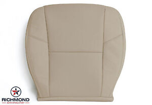 12 14 Chevy Silverado Ltz driver Side Bottom Perforated Leather Seat Cover Tan