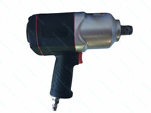 3 4 Drive Composite Twin Hammer Air Impact Wrench 1500ft Lb 2034nm Rattle Gun