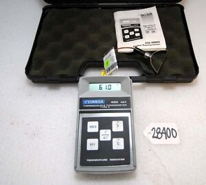 Omega Thermocouple Thermometer Type K inv 28400