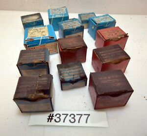 Lot Of Geometric Die Chasers inv 37377