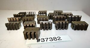One Large Lot Of Geometric Die Head Chasers inv 37382