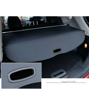 1x Black Rear Trunk Cargo Cover Security Shade For Nissan Rogue Sv X trail T32