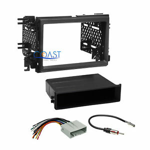 Car Radio Stereo Single 2 Din Dash Kit Wire Harness For 2007 2008 Ford F 150
