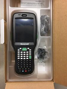 Honeywell Dolphin 6500 Handheld Scanner With Cradle Extra Battery And Trigger