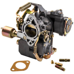 34 Pict 3 Carburetor 12v Electric Choke For Vw Karmann Ghia 1971 1974 1 6 Gasket