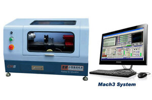 C56b 220v Mach3 Control Micro Mini Cnc Lathe Machine Hardware Metal Woodworking