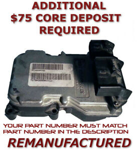 Reman 1999 2003 Durango Dakota Ram Abs Pump Control Module P52009897ad Exchange
