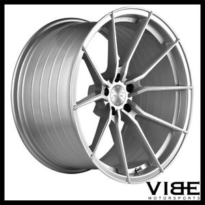19 Vertini Rf1 2 19x9 5 Silver Forged Concave Wheels Rims Fits Audi B8 A5 S5
