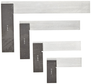Fowler 52 432 469 Machinist Hardened Steel Square Set 2 3 4 and 6 Blade