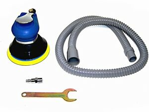 5 Air Palm Sander Random Orbital D A Vacuum Hose Dust Bag 9000pm Sanding Tools