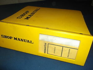 Komatsu D155ax 5 Dozer Bulldozer Service Shop Repair Book Manual S n 70001 up