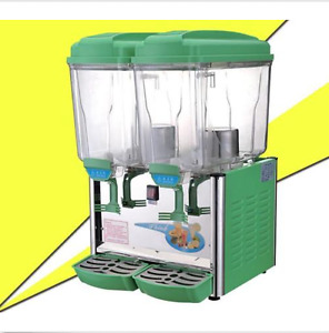 30l Double Cylinder Cold And Hot Drink Machine Juice Beverage Dispenser M