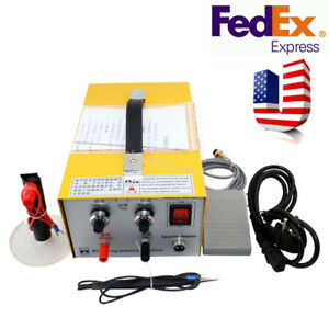 Pulse Sparkle Spot Welder Electric Jewelry Welding Machine Gold Silver Safe Use