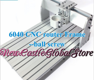 6040 Cnc Router Frame Milling Woodworking Machine Ball Screw Aluminum Clamp Kit