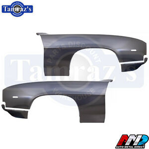 69 Camaro Front Fenders W Extensions Amd Tooling Lic Gm Restoration Part Pair