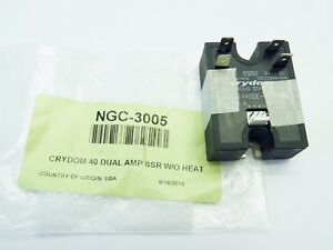 Turbochef Ngc 3005 Crydom 40 Dual Amp Solid State Relay Oem New