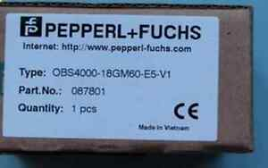 1pc Brand New Pepperl Fuchs Obs4000 18gm60 e5 v1