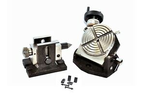 Rotary Table 3 Tilting With Tailstock Clamping Kit