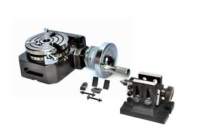 Hv4 Rotary Table With Clamping Kit M 8 Tailstock