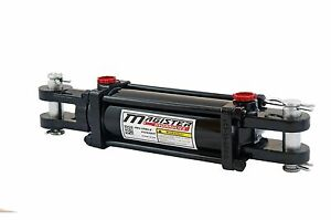 Hydraulic Cylinder Tie Rod Double Action 3 Bore 4 Stroke 2500 Psi 3x4 New