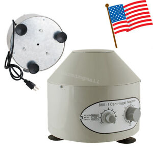 Electric Centrifuge Machine 4000rpm Lab Medical Practice High Quality Fda Ce Usa