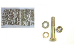 2835 Pcs Coarse Grade 8 Bolt Nut Washer And Lock Washer Assortment kit
