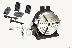 6 Rotary Table Horizontal Vertical With M8 Clamping Kit