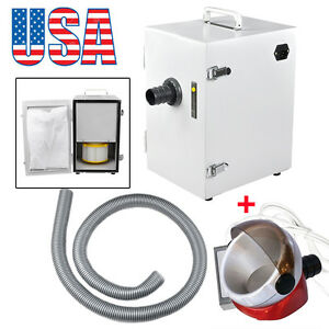 Usa Portable Dental Industry Digital Dust Collector Vacuum Cleaner suction Base