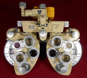 American Optical 11325 Phoropter beige plus Cylinder Phoropter Only