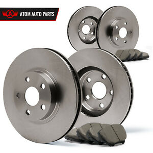 1998 1999 2000 Ford Contour Non Svt Oe Replacement Rotors Ceramic Pads F R