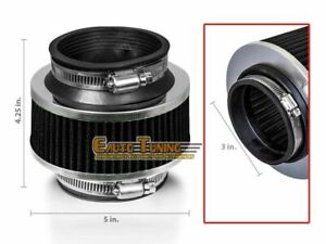 3 Cold Air Intake Bypass Valve Filter Black For 3 Series 315 318 320 323 325
