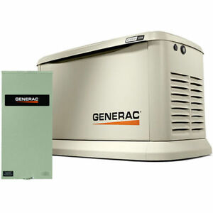 Generac Guardian trade 22kw Standby Generator System 150a Service Disconnec