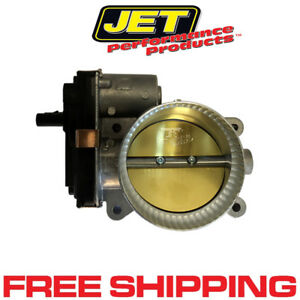 Jet 76116 Powr flo Performance Throttle Body 14 17 Camaro Corvette Silverado 6 2