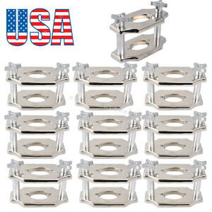 10 Dentist Dental Reline Jig Single Compress Press Plate Lab Equipment Industry