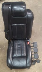 2003 2013 Navigator Ford Expedition 2nd Row Middle Jump Center Seat Leather