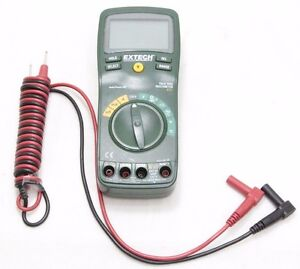 Extech Instruments 430 True Rms Multimeter Cat Iii Used Free Shipping