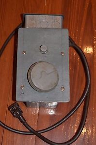 Superior Electric Luxtrol Powerstat Autotransformer Dimmer Wbd 360 120v Tested