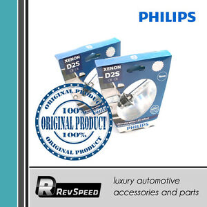 Philips Xenon Whitevision Gen2 5000k D2s Hid Xenon Bulbs Set Of Two 85122whv2s1