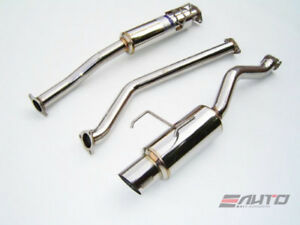Invidia N1 101mm Stainless Tip Catback Exhaust For Acura Rsx Type S 02 06 K20