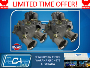 Datsun A12 120y 1200 Genuine Twin 45 Dcoe Weber Carburettor Conversion Kit