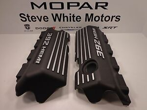 11 18 Challenger Charger New Engine Valve Cover 392 Hemi Set Of 2 Mopar Oem