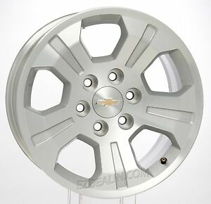 Chevy Silverado Tahoe Suburban 18 Z71 Oem Factory Gm Wheel Rim Takeoff Single