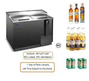 Commercial Restaurant Equipment Under Counter Bottle Cooler Pbc 50