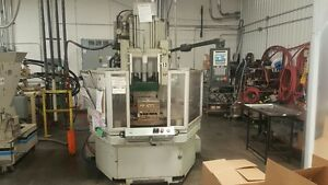 150 Ton Autojector Rotary Vertical Injection Molding Machine i4797