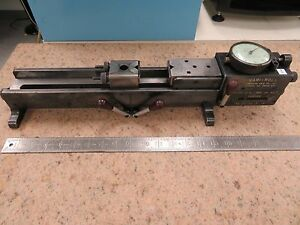 Precision Gage Vari roll Mdl D 4 Gear Measuring System Tester Ms18